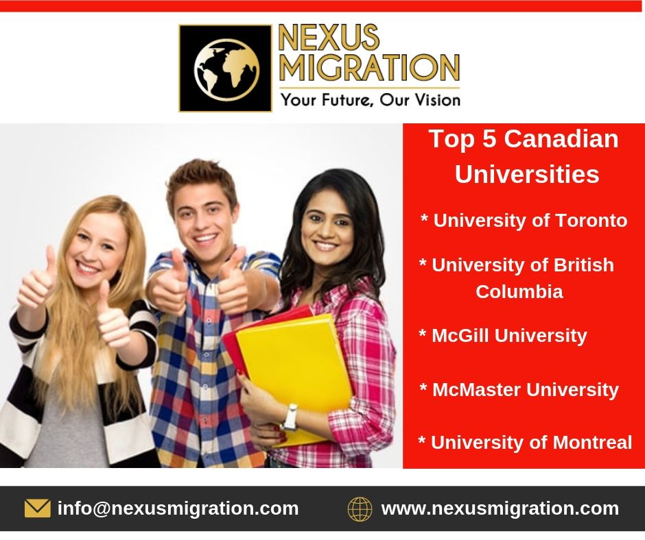 Canada Student Visa Canadian Universities Student Mcmaster