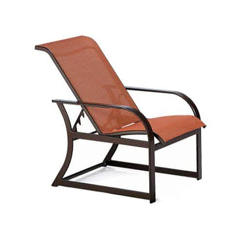 Have To Have It Winston Key West Sling Adjustable Lounge Chair 598 50 Lounge Chair Outdoor Aluminium Outdoor Furniture Luxury Patio Furniture