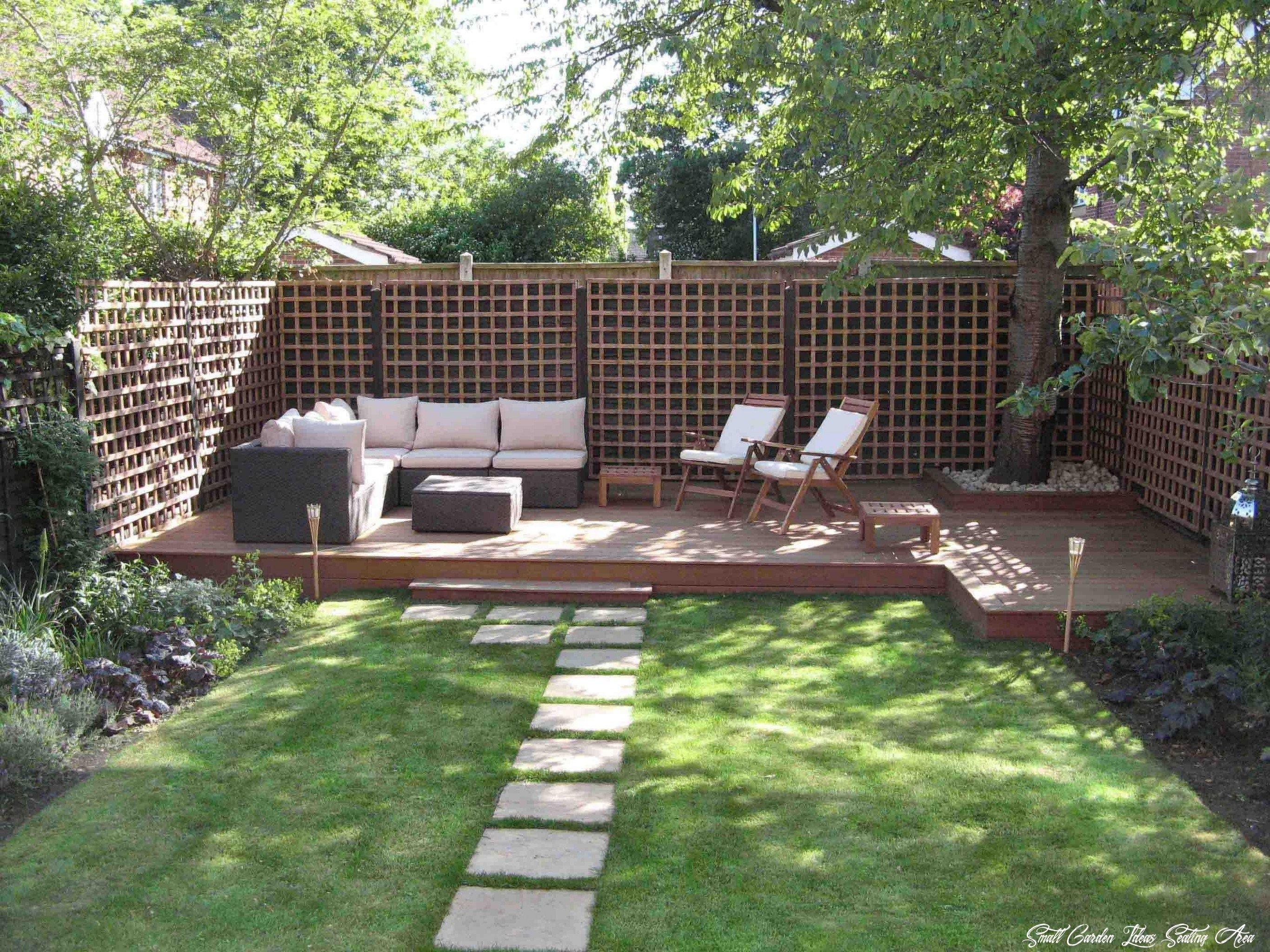 27 Small Garden Ideas Seating Area in 27  Modern backyard