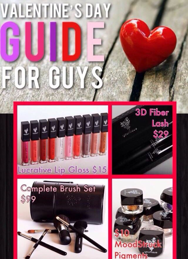 Some great ideas for Valentine's Day!!!  Shop my site: www.youniqueproducts.com/PamKey