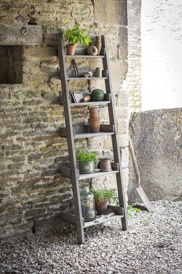 Beau Image Result For Decorative Ladder Shelf Outdoor