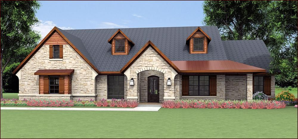 House Plans By Korel Home Designs Country House Design Texas House Plans New House Plans