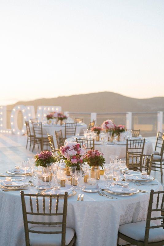 Table Centrepieces Pink Table Decor Elegant Table Decor