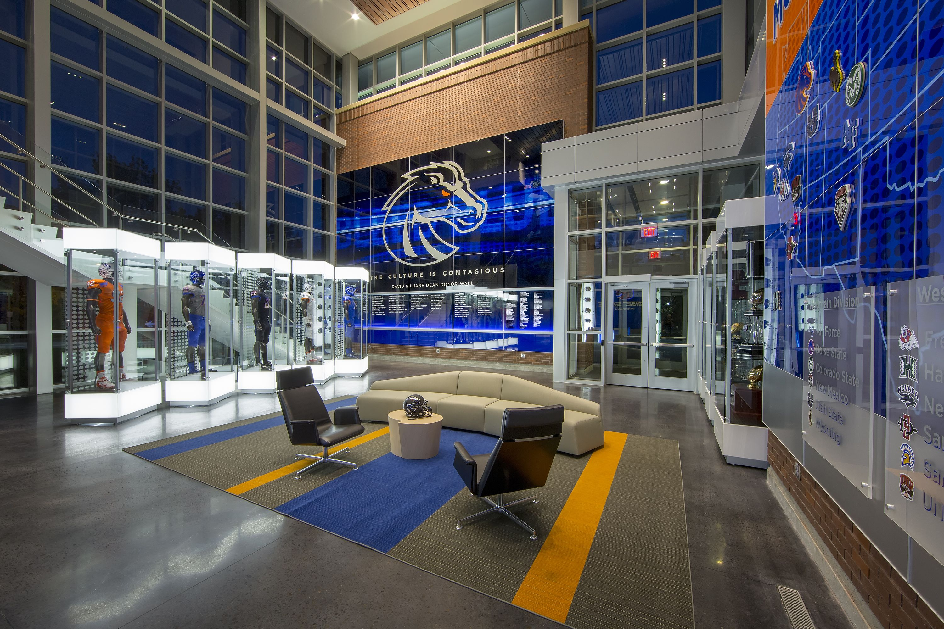Elite College Training Facilities And The Future Athletic Center Facility Boise State Football