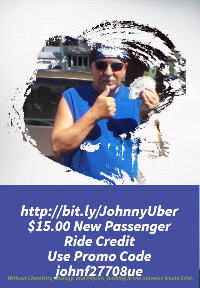 $15.00 Ride Credit 4 New #Uber Passengers.  http://wu.to/CP4nzE use Promo Code johnf27708ue #MotivationalMonday