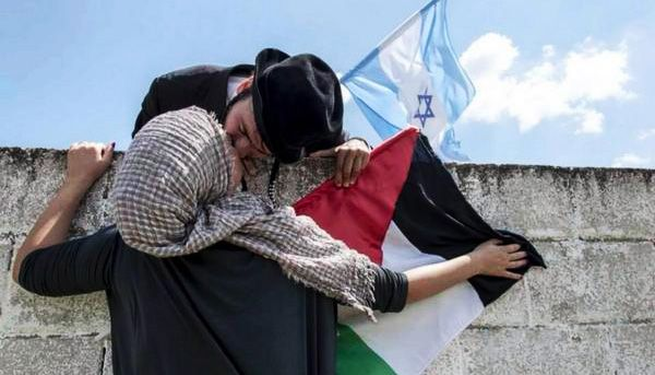 Video Of Israeli Jews And Palestinian Arabs Kissing Removed From