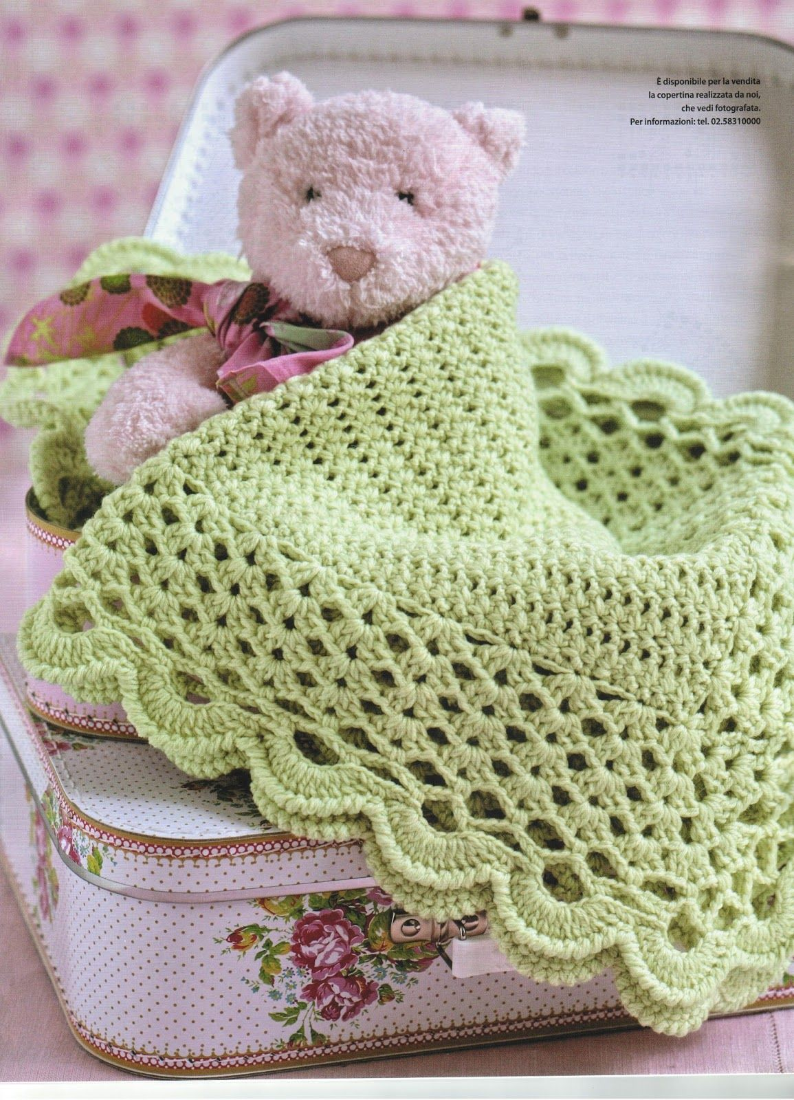 Pin By Elide Barlocco On Copertine Baby Baby Blanket Crochet