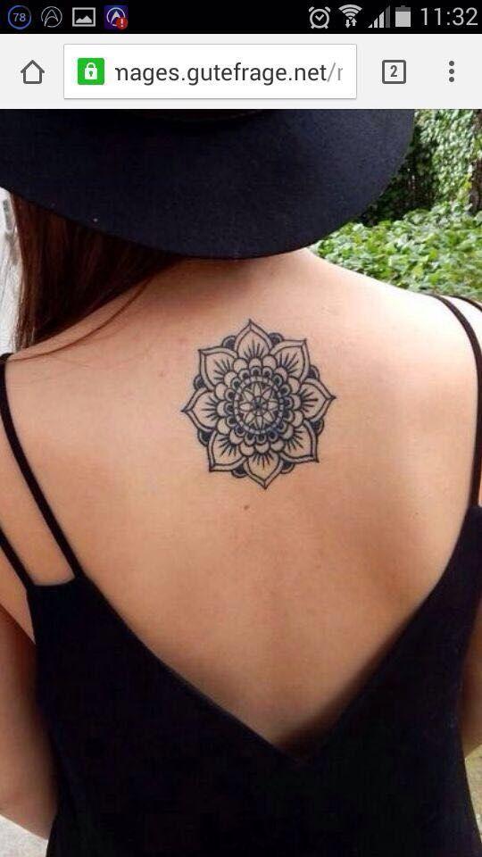 Photo of Mandala tattoo idea