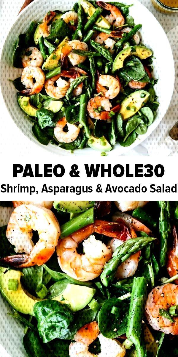 Shrimp, Asparagus and Avocado Salad -Shrimp, Asparagus and Avocado Salad -Shrimp, Asparagus and Avo