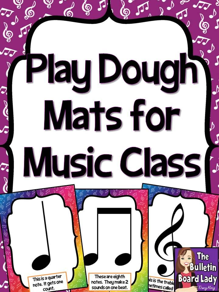 Play Dough Mats For Kindergarten Music Fun Kindergarten Music Music Education Music Lessons For Kids