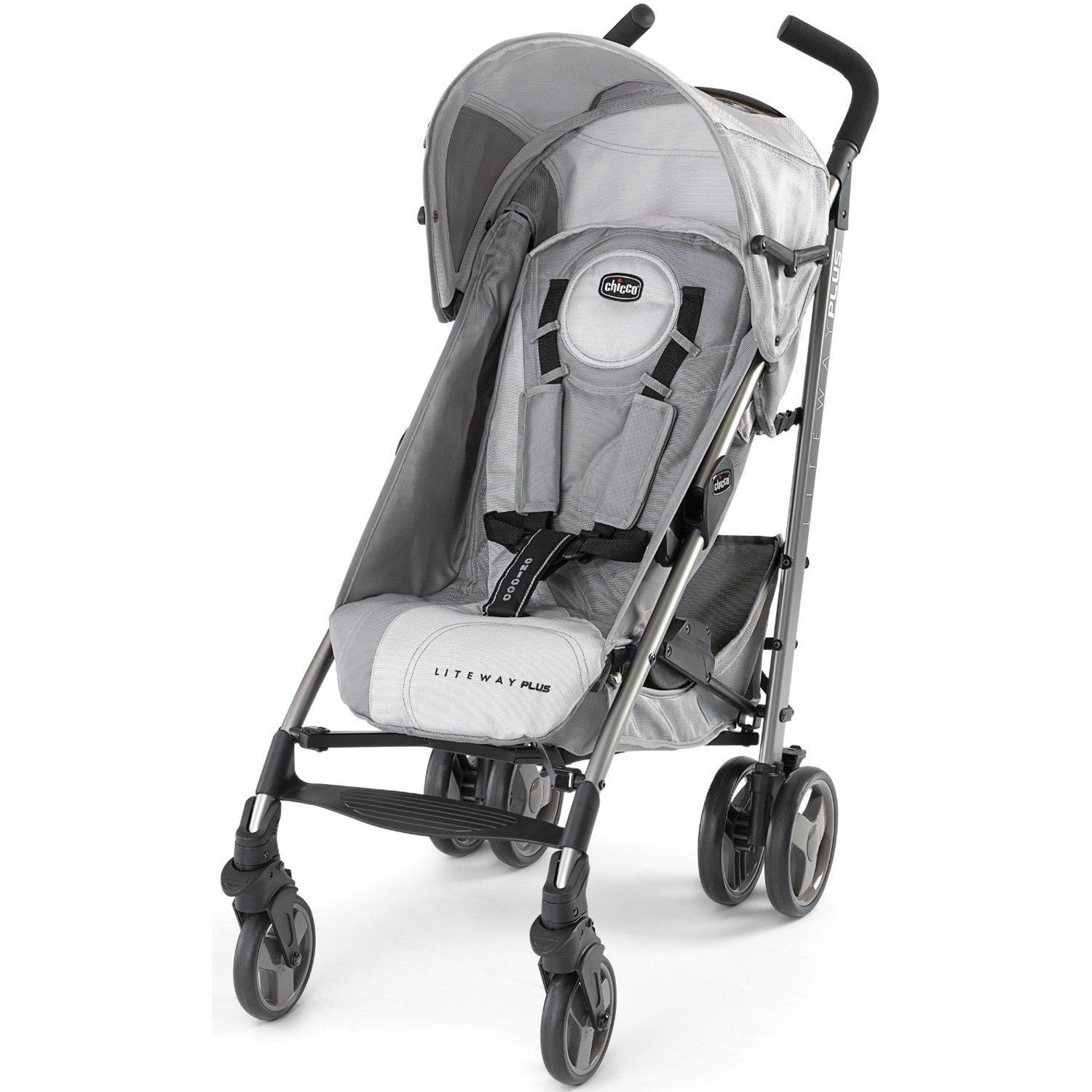 Chicco Liteway Plus Stroller Silver Chicco stroller