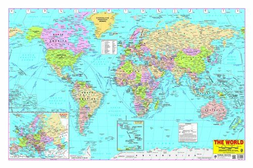 World map by dreamland publications httpamazondp world map by dreamland publications httpamazondp gumiabroncs Image collections