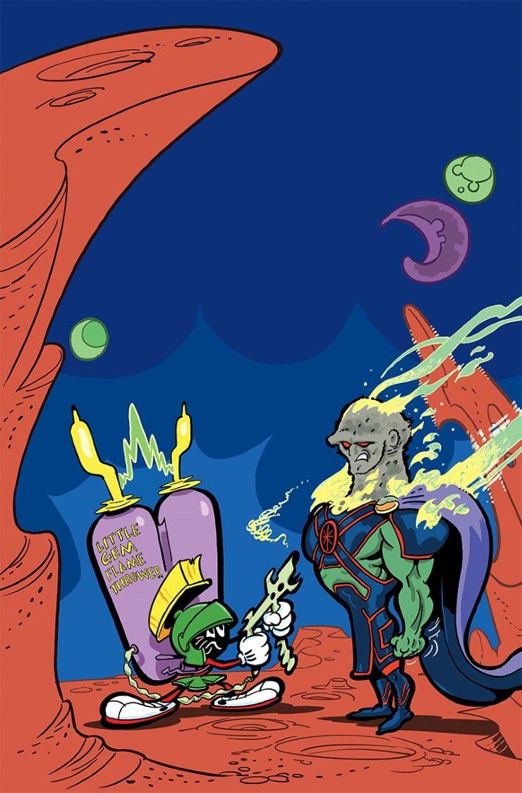 DC Comics/Looney Tunes Crossovers Revealed