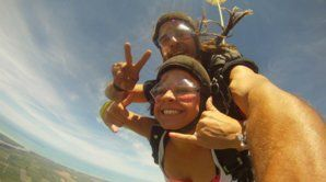 No better way to get to know someone! - Skydive in New Zealand!