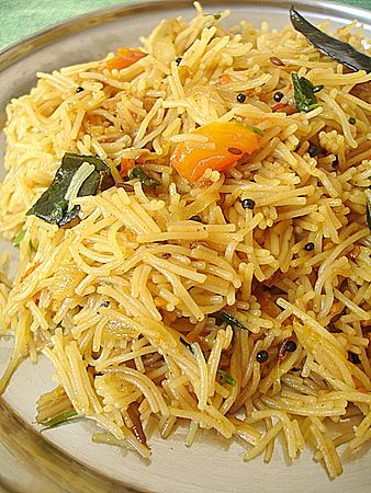 Vermicelli Semiya Upma Recipe Indian Cooking Pinterest