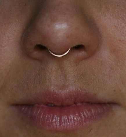 Idées Super Piercing Septum Hoop   – Things I lov