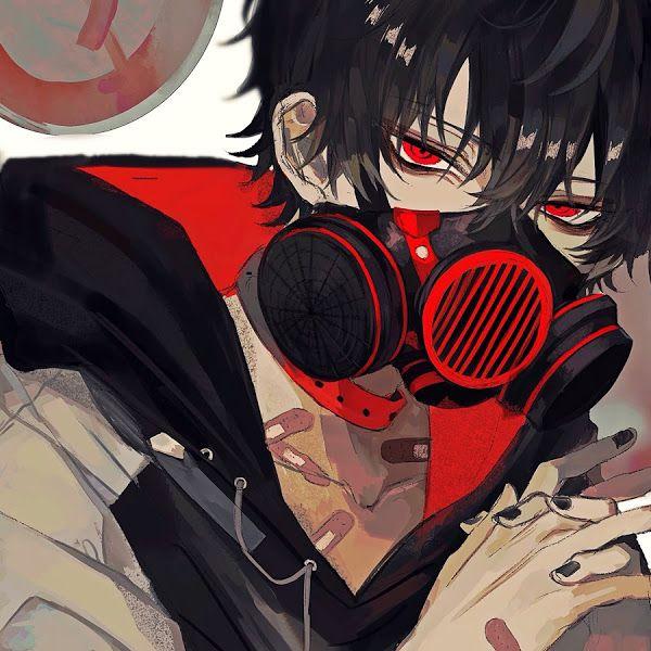 Anime Boy Gas Mask 4k 3840x2160 Wallpaper Anime Anime Boy Dark Anime