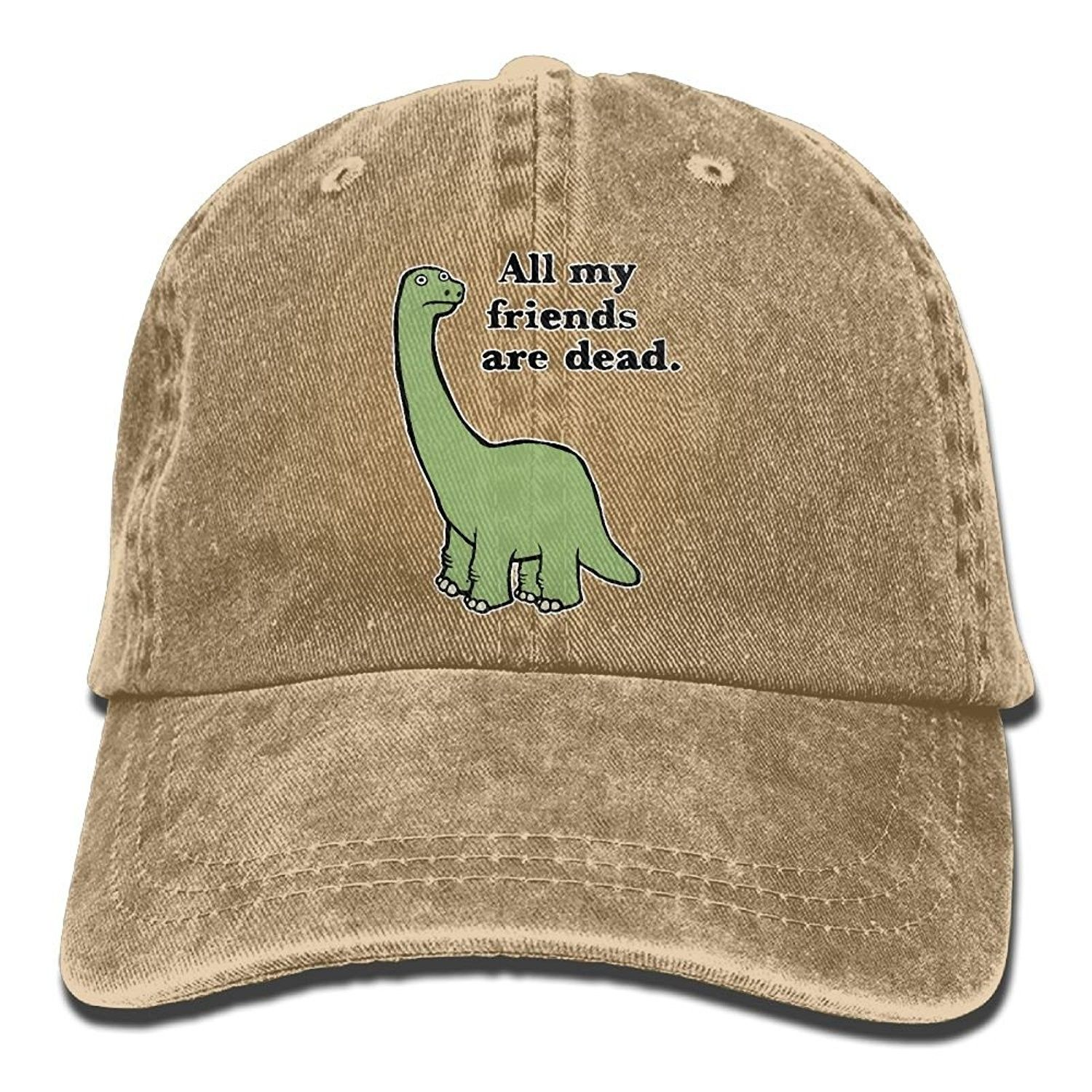 Men And Women All My Friends Are Dead Dinosaur Vintage Jeans