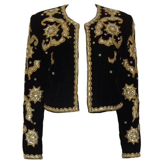 Vera mont s vintage matador jacket evening bolero