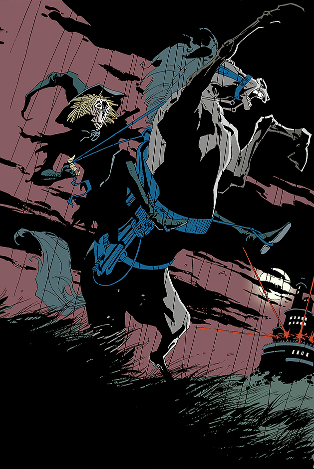 "Unleashing The Scarecrow."" Batman: The Long Halloween (Jeph Loeb ..."