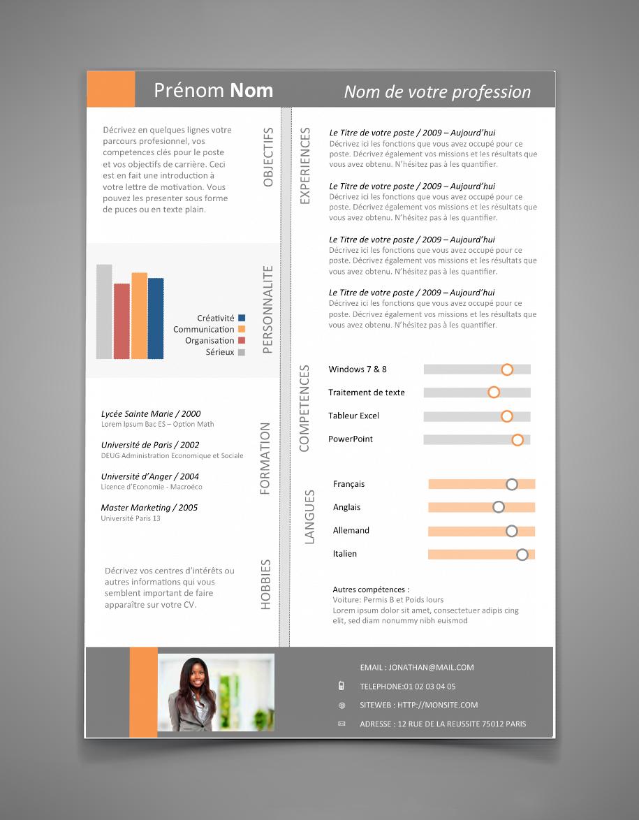 CV personnalisé CV 20 Maxi CV Exemple cv, Modèle cv