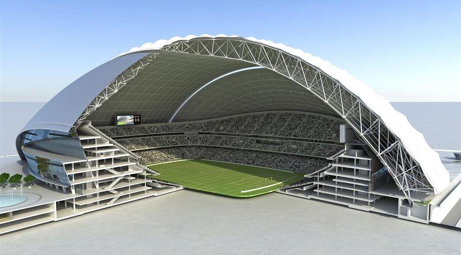 National Stadium Abu Dhabi ARUP ASSOCIATES Stadium