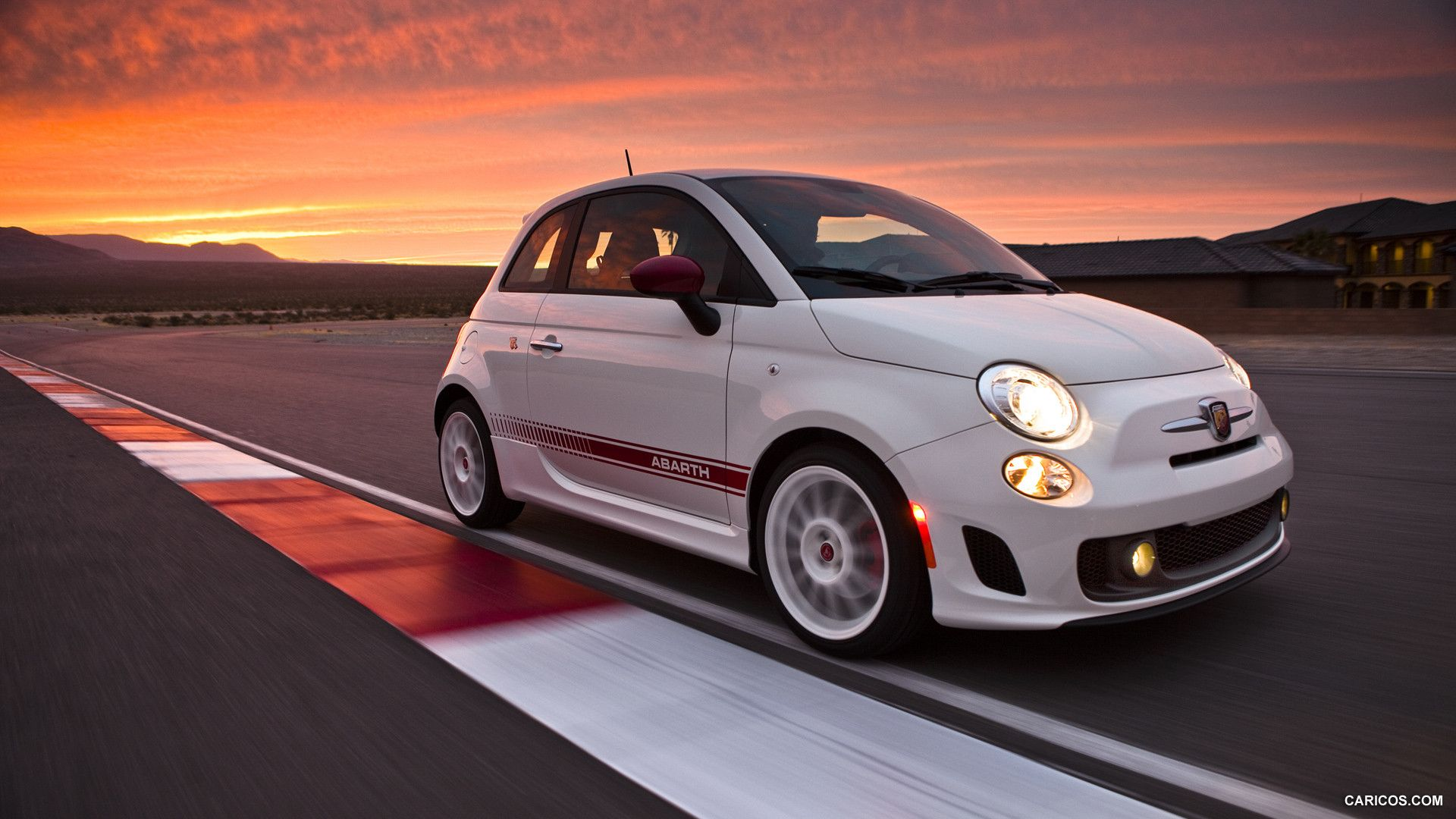 Rolling Fiat 500 Abarth