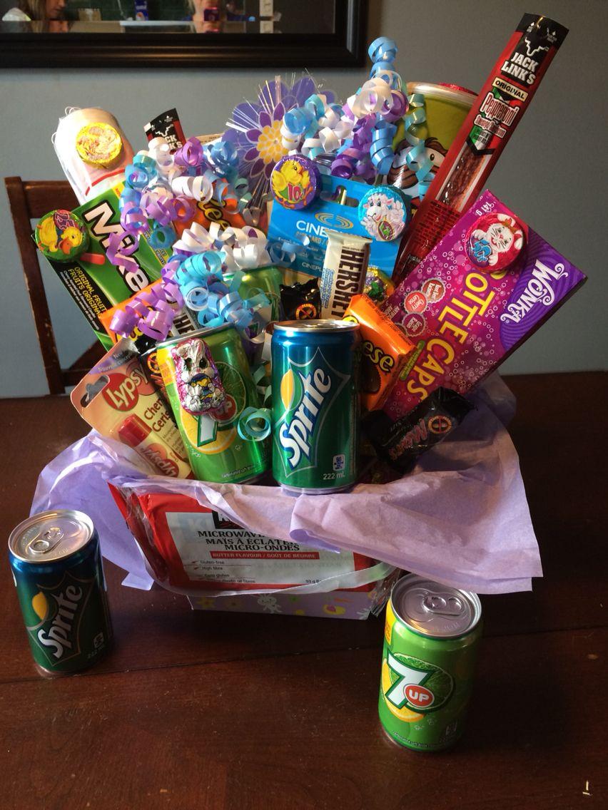 Gift basket for teenager gift baskets gifts pop tarts