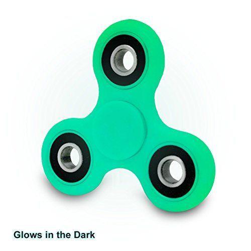 Tri Glider Fidget Spinner Glow In The Dark High Speed Si3n4 Hybrid Ceramic Center Bearing W 1 3 Minute S Fidget Spinner Cool Fidget Spinners Fidget Toys