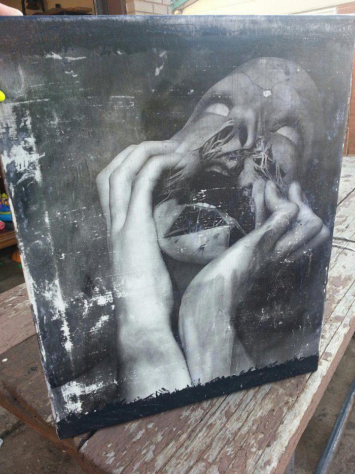 A piece I did that came out sooooo awesome I think.