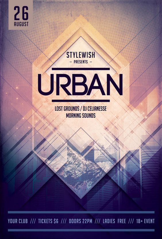 Urban Flyer by styleWish (Buy PSD file - $9) #design #poster - examples of a flyer