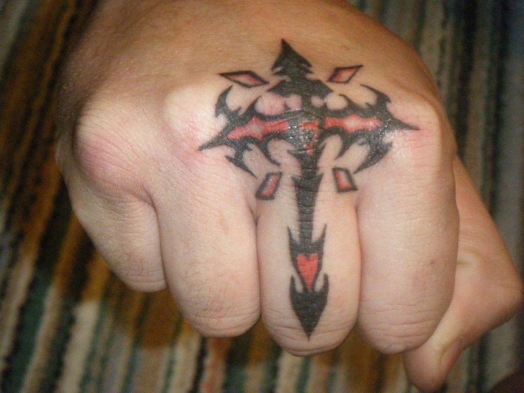Ideas about small tattoos on pinterest tattoos - Small Cross Tattoos For Mens Finger
