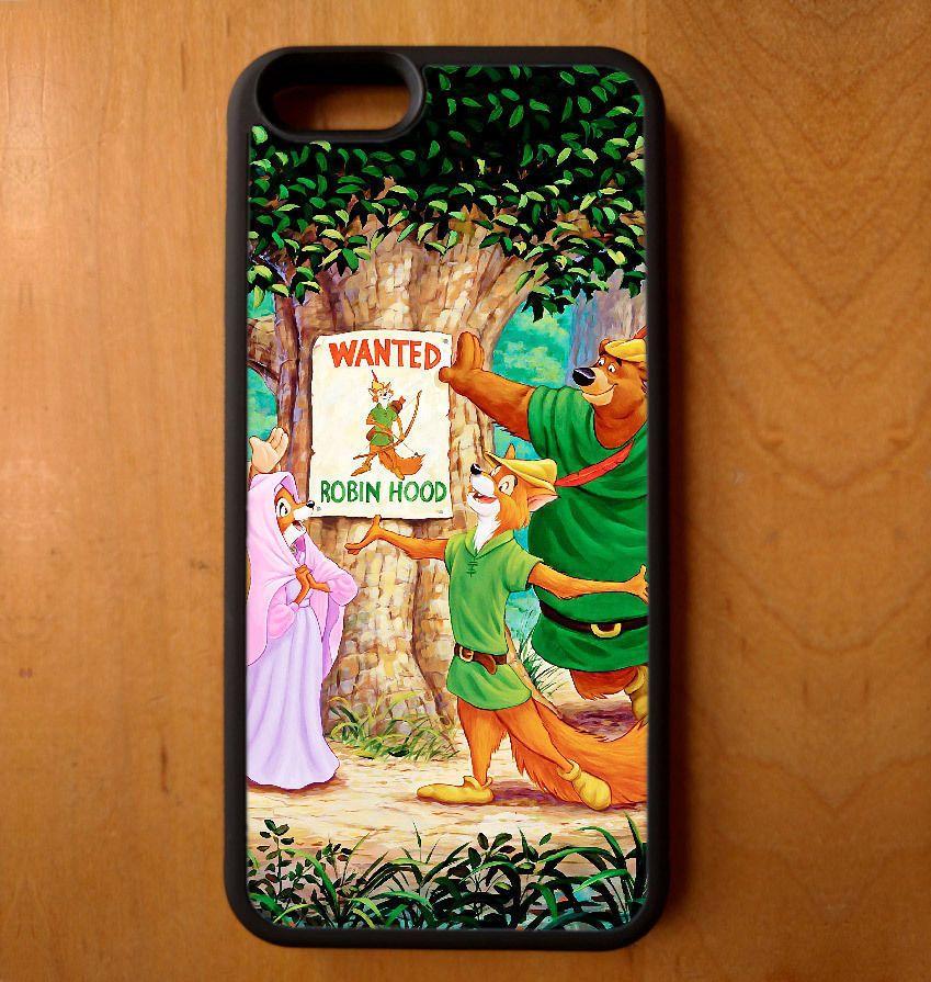 Disney Robin Hood Wanted Phone Case Galaxy S Note Edge Iphone 4 5 6