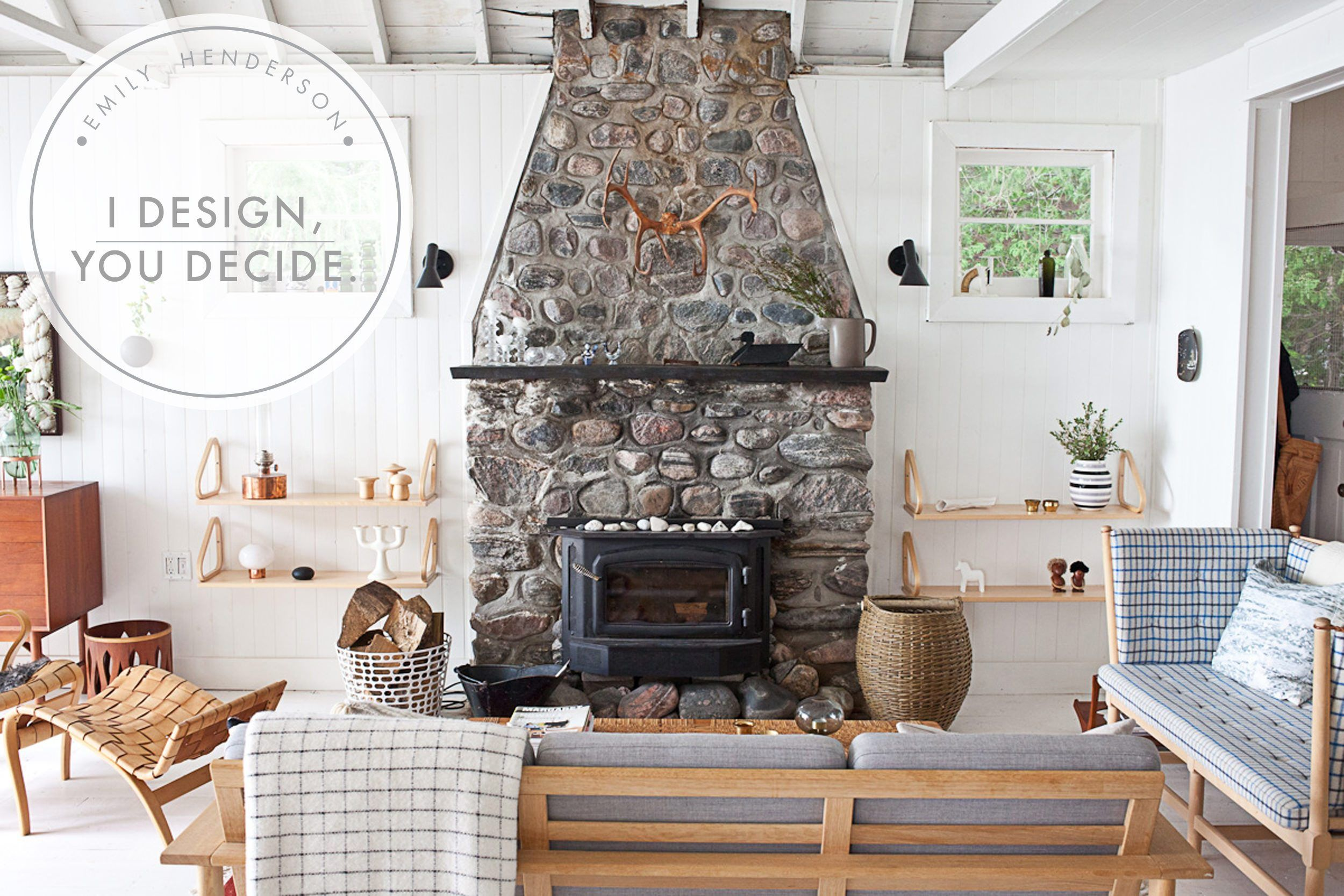 I Design, You Decide: Mountain Fixer-Upper – The Fireplace