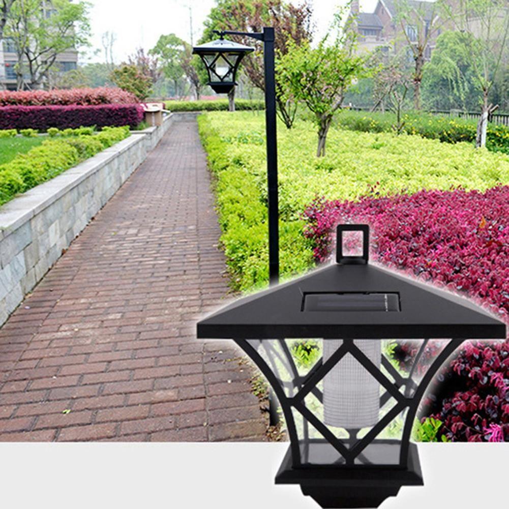 Solar Powered LED Garden Lamp Outdoor Path Landscape Lawn Waterproof ...