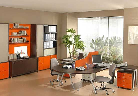 Office Room Furniture Design. 17 Best Ideas About Office Furniture ...