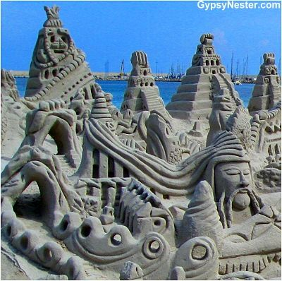 The most amazing sand castle we've ever seen! http://www.gypsynester.com/alghero.htm