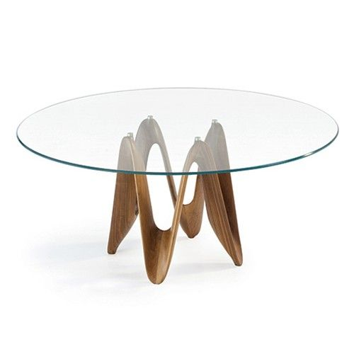 60 Inch Round Glass Table Glass Dining Table Contemporary