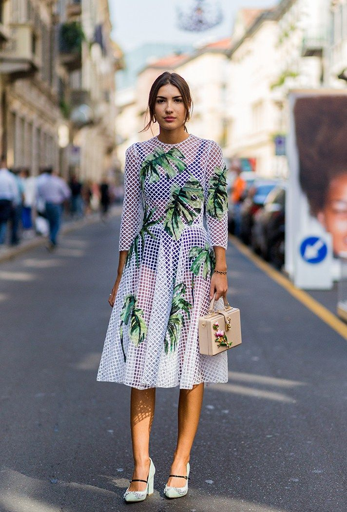 8eb9a81d1903 Browse the Best Street Style Outfits from Milan Fashion Week Spring 2017 at   StyleCaster