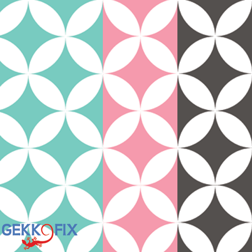 New in our collection --> ELLIOTT, available in green, pink and grey! Get inspired & get creative! #DIY #New #Retro Gekkofix