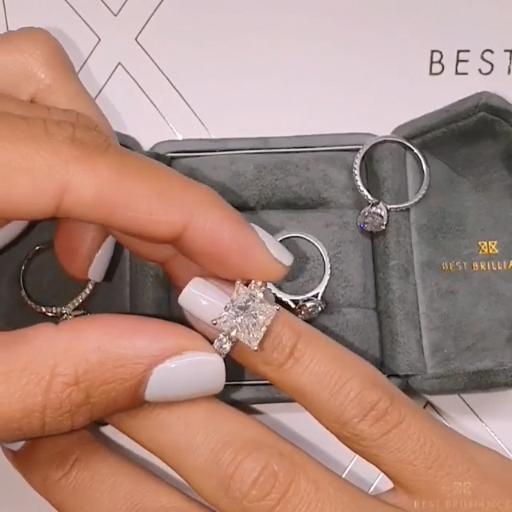 Pin By Kayla John On Diamond Loves Popular Engagement Rings