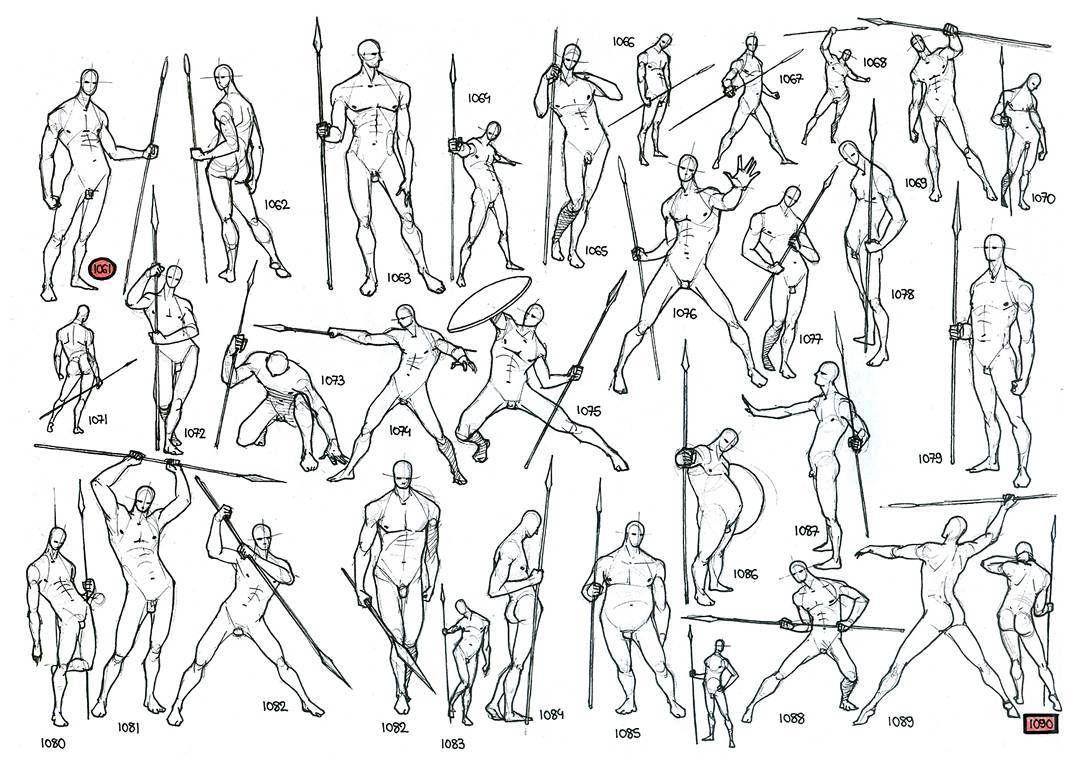 Dynamic Figure Drawings Warrior Sketchbook Art Art Ink Figure Anatomy Body Man Spear Warri Figure Drawing Figure Drawing Reference Drawing Reference