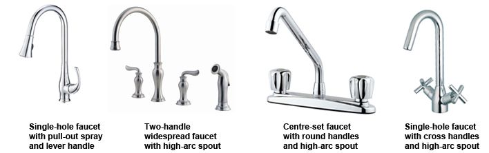Bathroom Faucets Types the faucet spout either cast onto part body types delta bathroom
