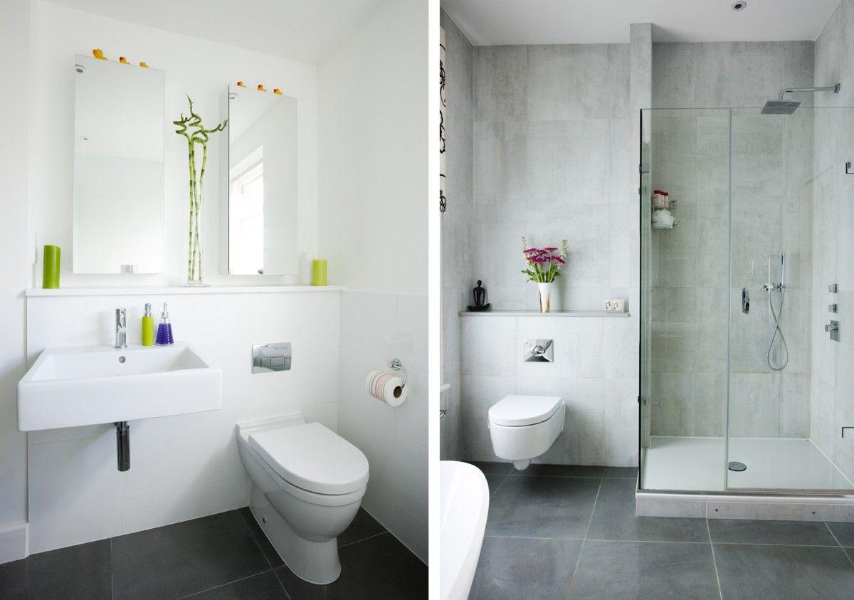 Bathroom Ideas For Small Bathrooms Uk Shower Room With Gl Doors Marble Tile Floor Water