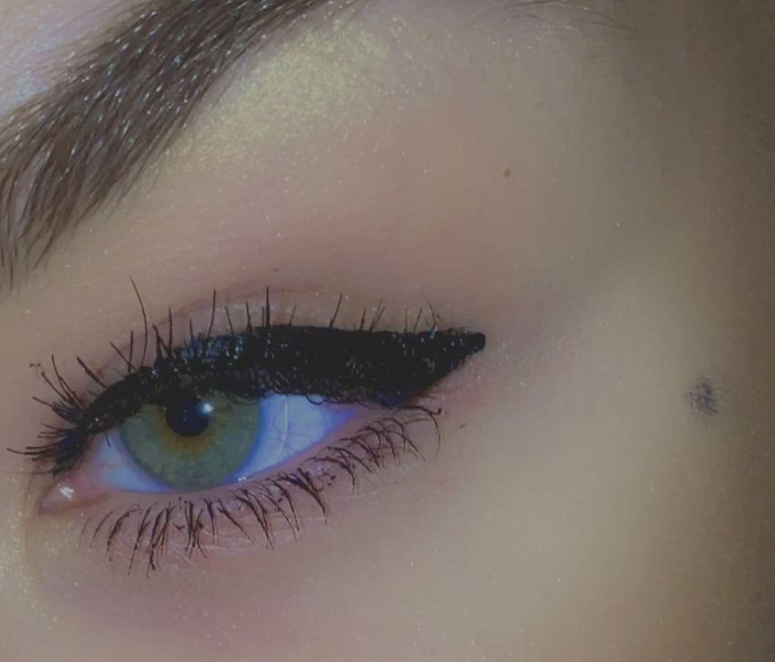 #wing #makeup #love #follow #lashes #denmark #greeneyes
