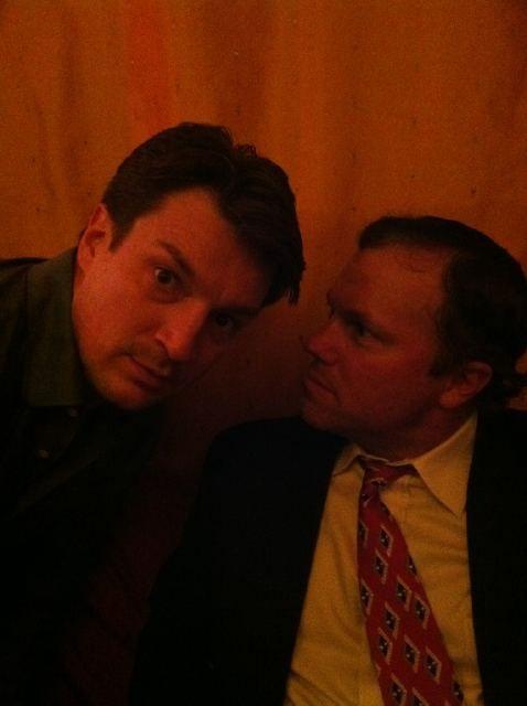 Nathan Fillion & Adam Baldwin.