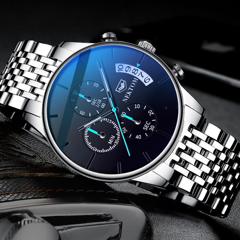 Reloj Para Hombre Cronografo Multifuncional De Marca Superior Reloj De Cuarzo Luminoso Impermeab In 2020 Watches For Men Best Watches For Men Luxury Watches For Men