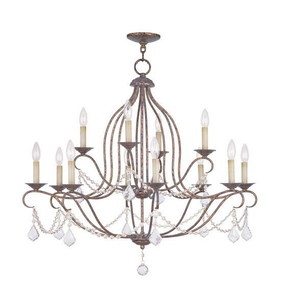 Dowden 12 Light Chandelier