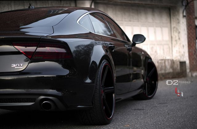 Audi A7 All Black This Thing Is Mean Audi A7 Black