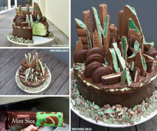 Mint Chocolate Cheesecake No Bake Recipe Is A Show Stopper